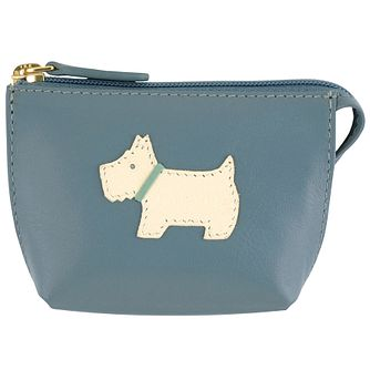 Radley Small Zip Blue Leather Coin Purse - Product number 6237207