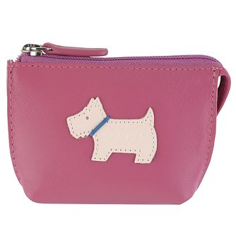 Radley Small Zip Pink Leather Coin Purse - Product number 6241441