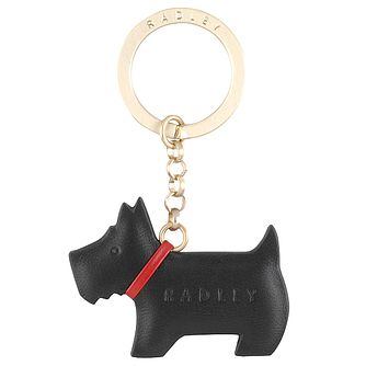 Radley Dog Black Leather Keyring - Product number 6241603