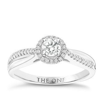 The One 9ct White Gold 1/3ct Diamond Ring - Product number 6245153