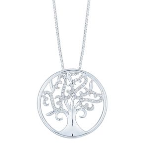 Open Hearts by Jane Seymour Tree of Life Design Pendant - Product number 6245838