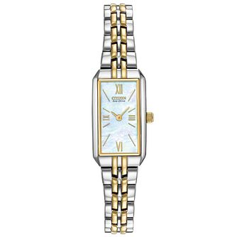 Citizen Ladies' Two Tone Stainless Steel Bracelet Watch - Product number 6246982