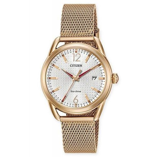 Citizen Eco-Drive Ladies' Stainless Steel Mesh Strap Watch - Product number 6247016