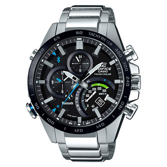 Casio Edifice Men's Smartphone Link Steel Bracelet Watch - Product number 6250998