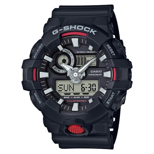 G-Shock Combi Black Resin Strap Watch - Product number 6251056