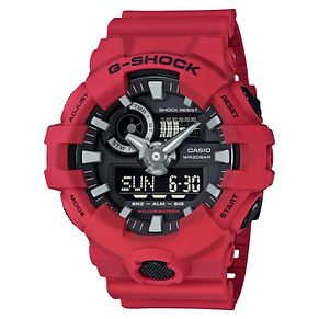 Casio G-Shock Men's Red Resin Watch - Product number 6251064