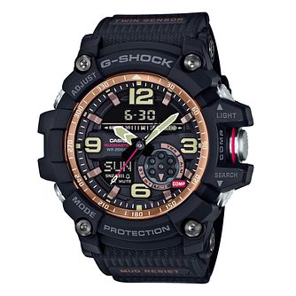 G-Shock Mudmaster Black Resin Watch - Product number 6251072
