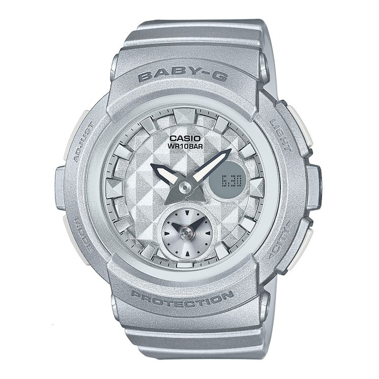 Baby-G Silver Resin Strap Watch - Product number 6251137