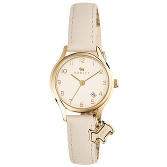 Radley Ladies' Cream Dial Cream Leather Strap Watch - Product number 6251730