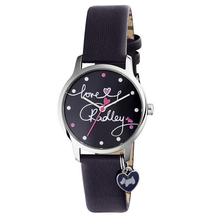 Radley Ladies' Blue Leather Strap Watch - Product number 6251862