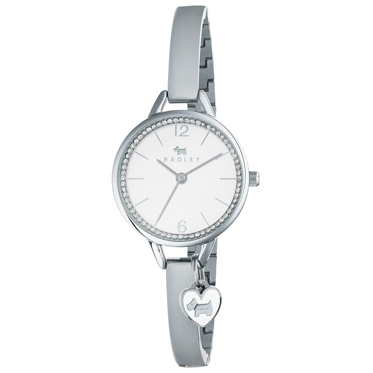 Radley Ladies' Stainless Steel Semi Bangle Watch - Product number 6251889