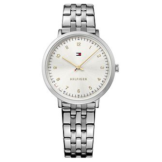 Tommy Hilfiger Silver Dial Stainless Steel Bracelet Watch - Product number 6251986