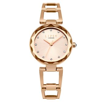 Lipsy Ladies' Stone Set Rose Gold-Plated Bracelet Watch - Product number 6252141