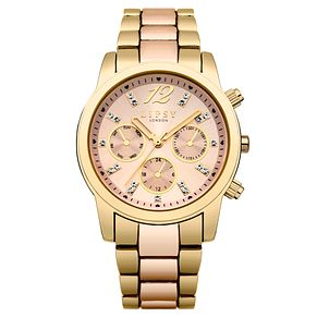 Lipsy Ladies' Rose Gold & Gold-Plated Bracelet Watch - Product number 6252168
