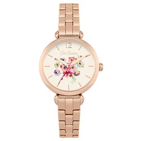 Cath Kidston Ladies' Rose Gold Plated Steel Bracelet Watch - Product number 6252206
