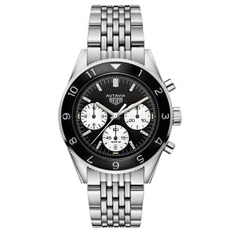 TAG Heuer Autavia Men's Stainless Steel Bracelet Watch - Product number 6252311