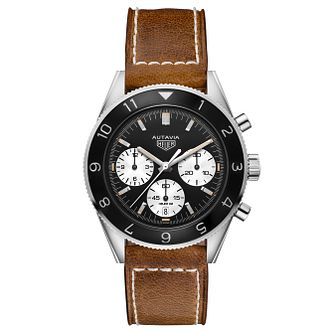TAG Heuer Autavia Men's Stainless Steel Strap Watch - Product number 6252338