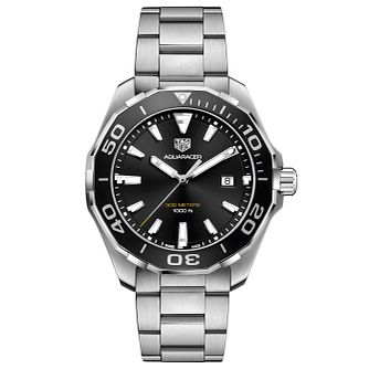 TAG Heuer Aquaracer Men's Stainless Steel Bracelet Watch - Product number 6252354