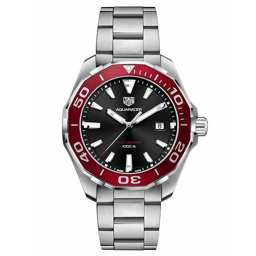 TAG Heuer Aquaracer Men's Stainless Steel Bracelet Watch - Product number 6252362