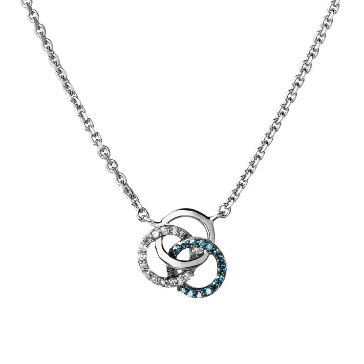 Links of London Treasured Sterling Silver Diamond Necklace - Product number 6252613