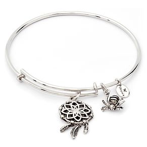 Chrysalis Rhodium-Plated Dream Catcher Bangle - Product number 6252737