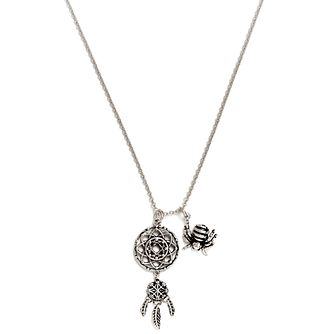 Chrysalis Rhodium-Plated Dream Catcher Pendant - Product number 6252761