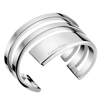 Calvin Klein Beyond Stainless Steel Open Bangle - Product number 6253016