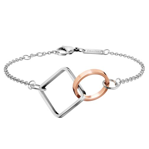 Calvin Klein Wonder Stainless Steel & Rose Gold PVD Bracelet - Product number 6253024