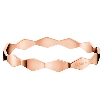 Calvin Klein Snake Rose Gold PVD Bangle - Product number 6253075
