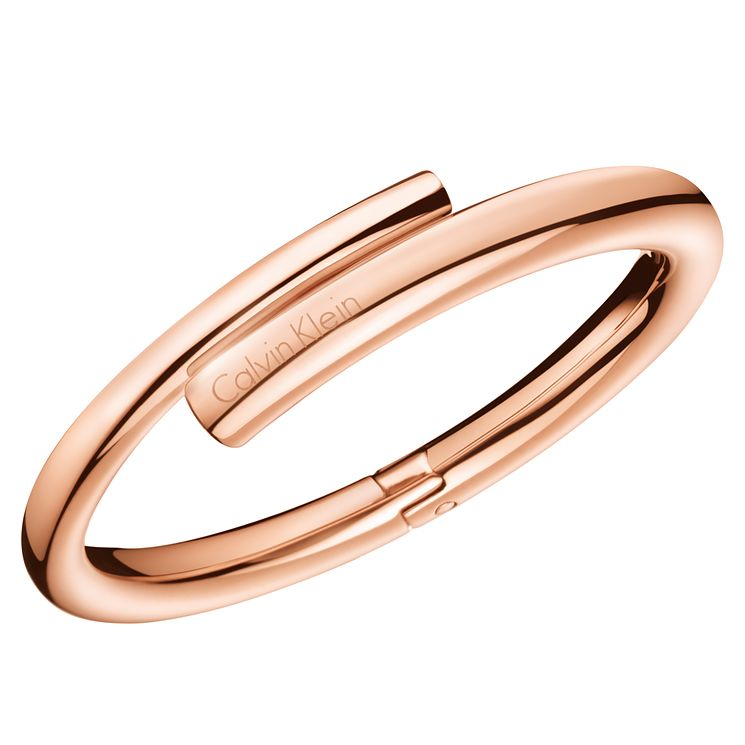 Calvin Klein Scent Rose Gold PVD Closed Bangle - Product number 6253091