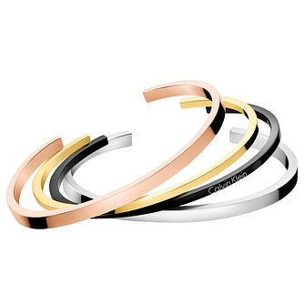 Calvin Klein Gorgeous Open Bangle Set - Product number 6253148