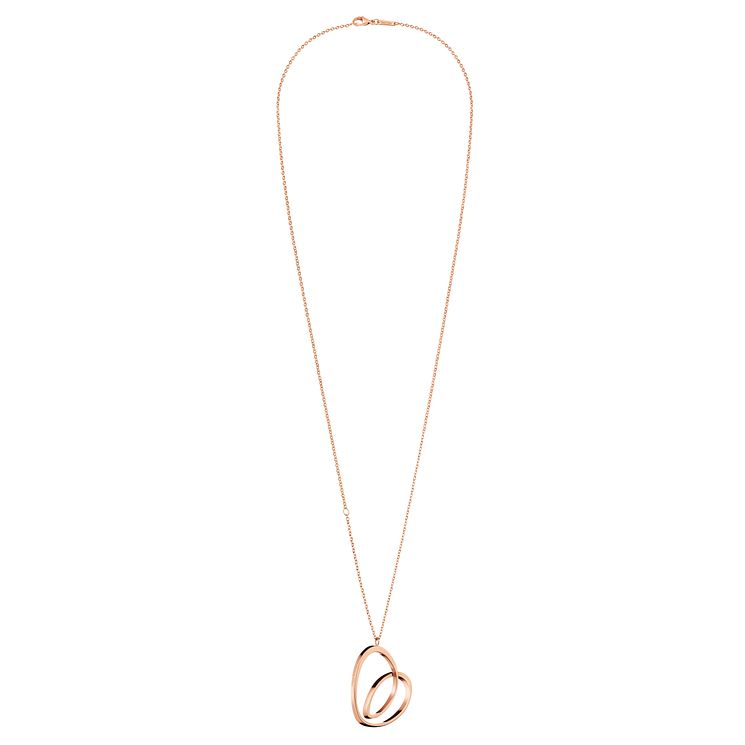 Calvin Klein Warm Rose Gold PVD Necklace - Product number 6253202
