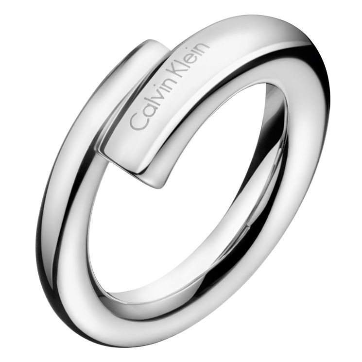 Calvin Klein Scent Stainless Steel Ring Size 8 - Product number 6253679