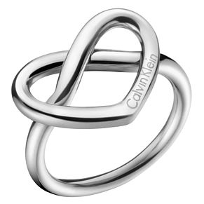 Calvin Klein Charming Stainless Steel Ring Size 8 - Product number 6253725