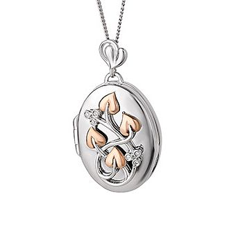 Clogau Tree of Life Diamond Oval Locket - Product number 6287794