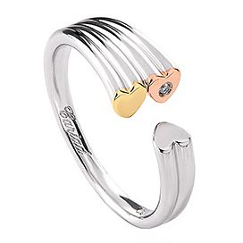Clogau 3 piece Cariad Ring - Product number 6288405