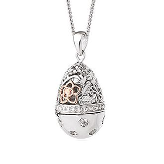 Clogau Floral Egg Locket - Product number 6289517