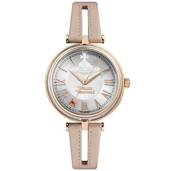Vivienne Westwood Ladies' Gold Plated Strap Watch - Product number 6290876