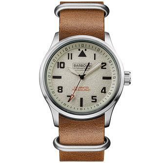 Barbour Men's Stainless Steel Strap Watch - Product number 6291023