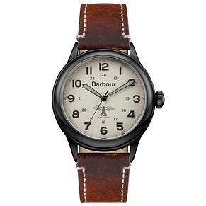Barbour Men's Ion Plated Strap Watch - Product number 6291058