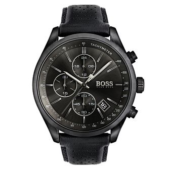 Hugo Boss Men's Ion Plated Strap Watch - Product number 6297234