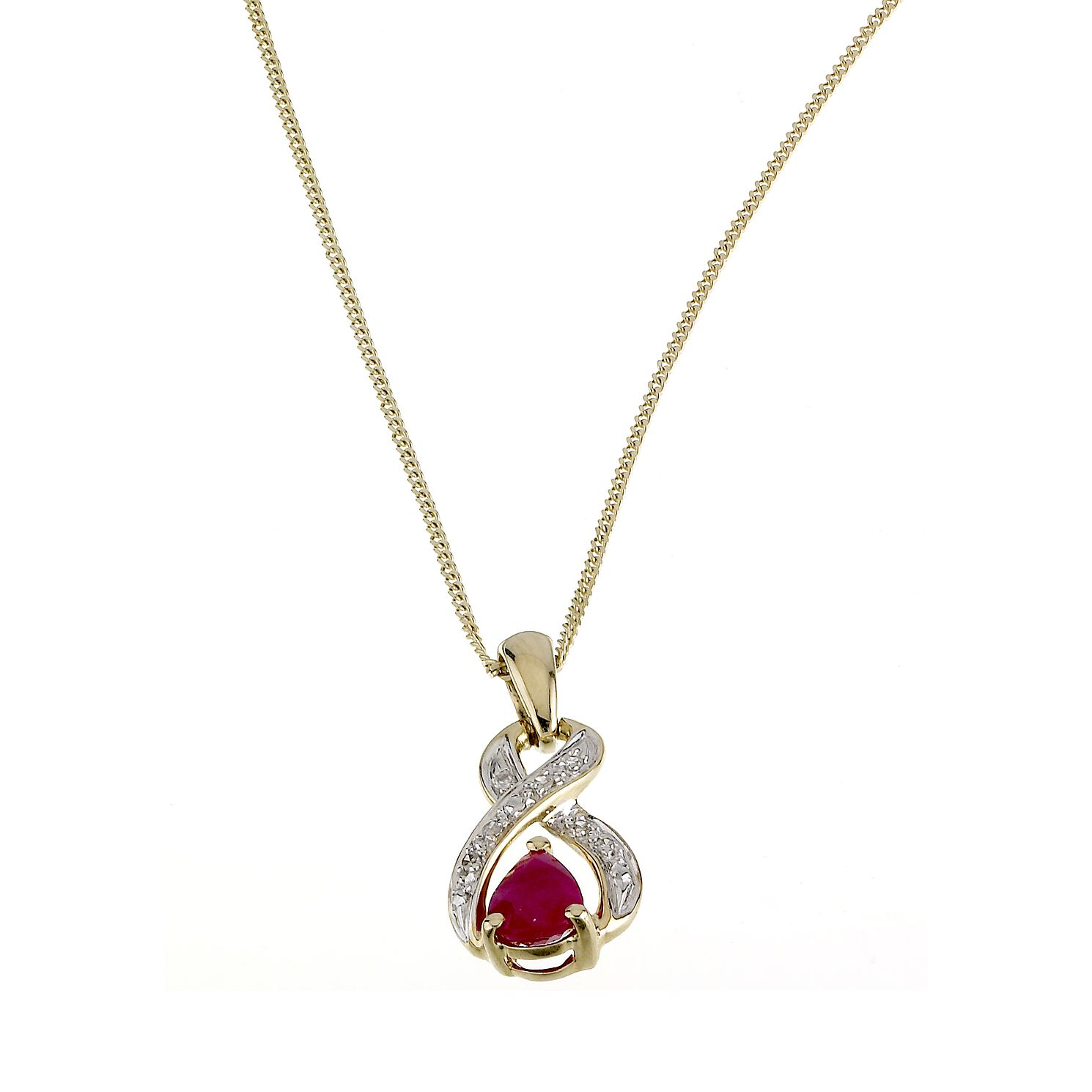 zoom silver to en ruby mv necklace kay zm diamonds lab created hover kaystore sterling with