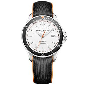 Baume & Mercier Clifton Men's Stainless Steel Strap Watch - Product number 6319106