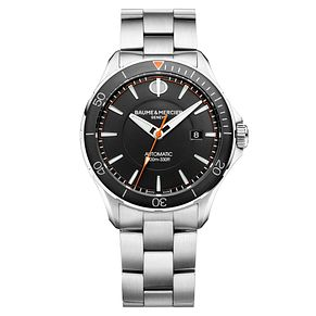 Baume & Mercier Clifton Men's Stainless Steel Bracelet Watch - Product number 6319149