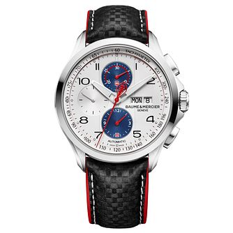 Baume & Mercier Clifton Club Shelby Cobra Men?s Strap Watch - Product number 6319157