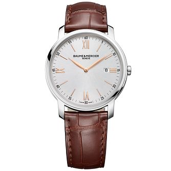 Baume & Mercier MyClassima Men's Stainless Steel Strap Watch - Product number 6319203