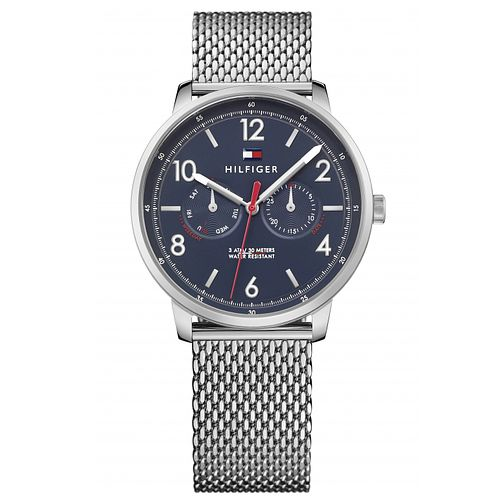 Tommy Hilfiger Men's  Stainless Steel Mesh Watch - Product number 6319874