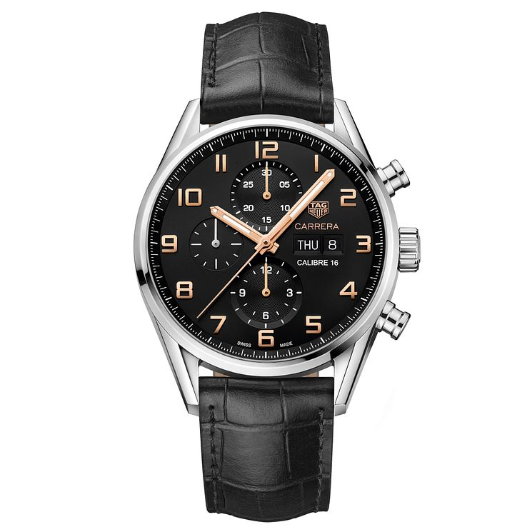 TAG Heuer Carrera Men's Stainless Steel Strap Watch - Product number 6335403