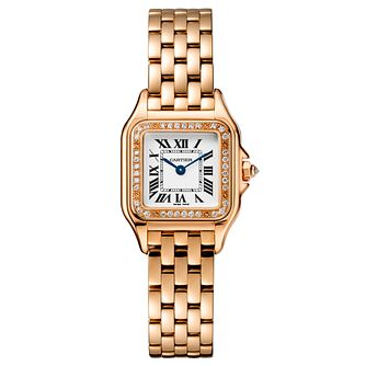 Cartier Panthere De Cartier Ladies' Rose Gold Bracelet Watch - Product number 6341195
