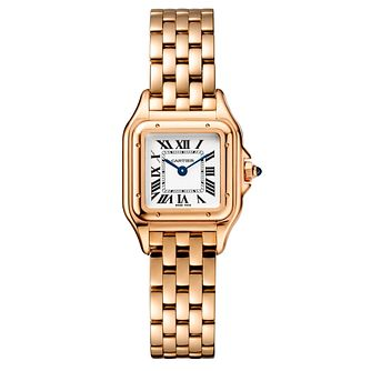 Cartier Panthere De Cartier Ladies' Rose Gold Bracelet Watch - Product number 6341217
